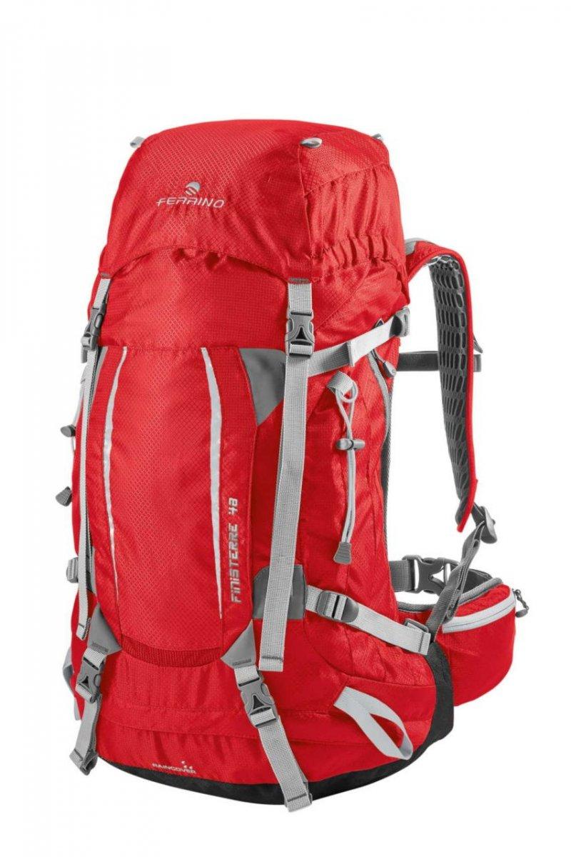 bed8621b594 Ferrino Finisterre 48 trekkingový turistický batoh červený